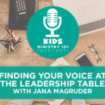 Finding Your Voice at the Leadership Table