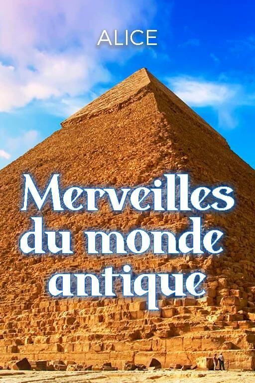 Couverture du Minitopo : Les 7 Merveilles du monde antique