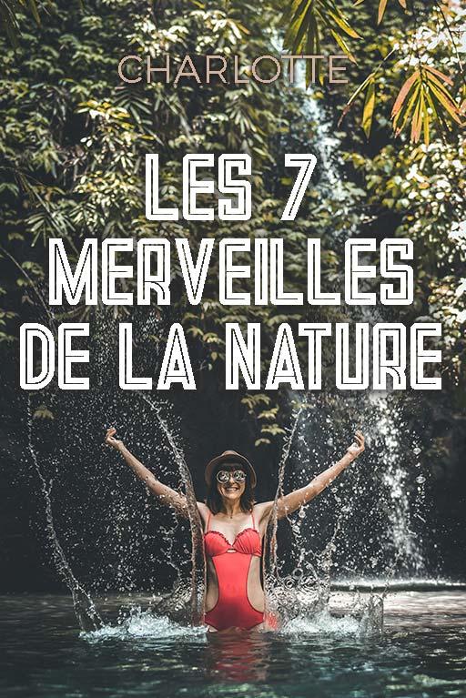 Minitopo - Les 7 Merveilles de la Nature