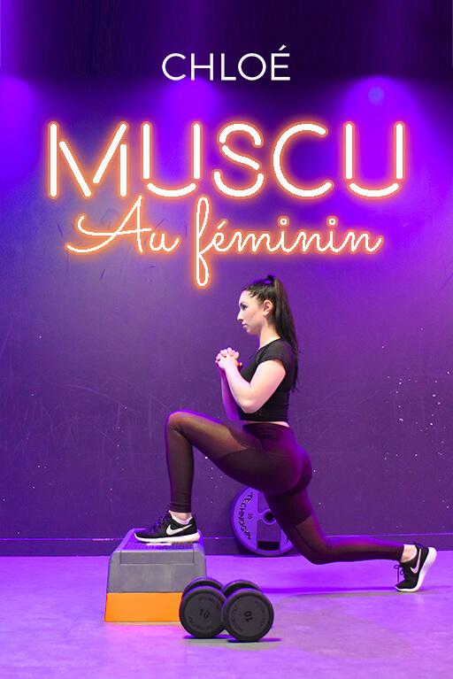 Minitopo - Musculation au féminin