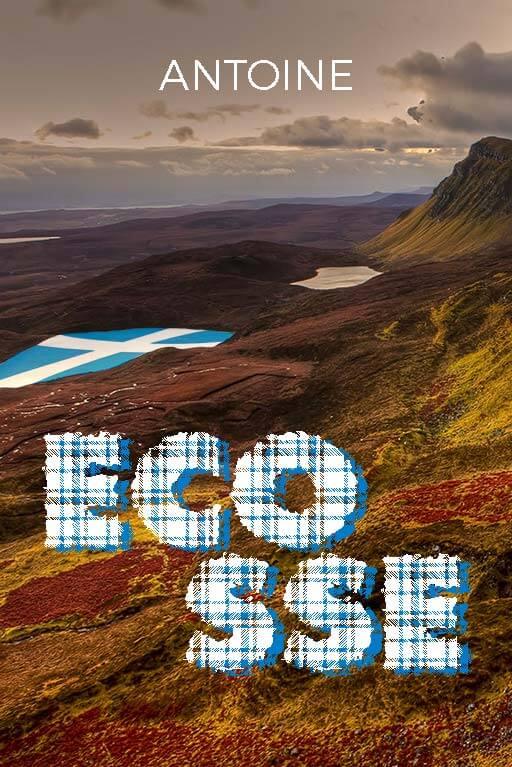 Couverture du Minitopo : Voyage en Écosse