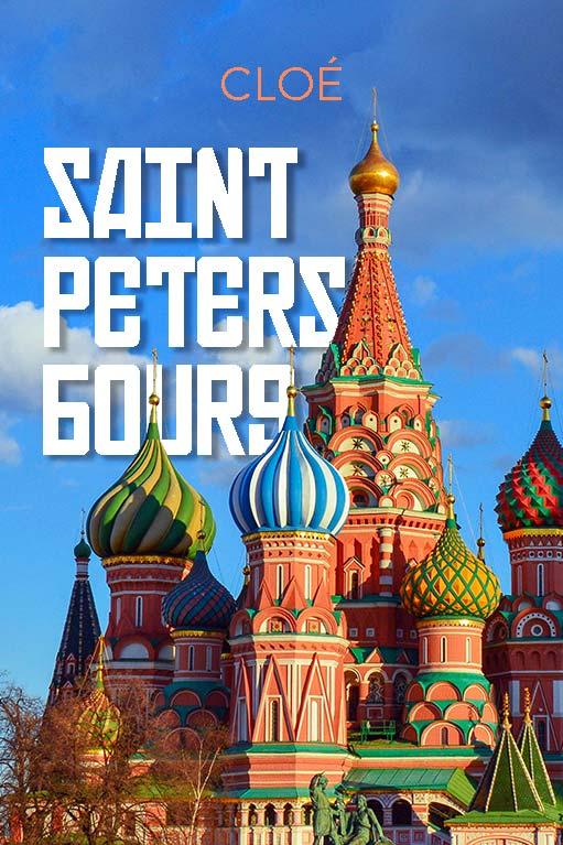 Couverture du Minitopo : Saint-Pétersbourg