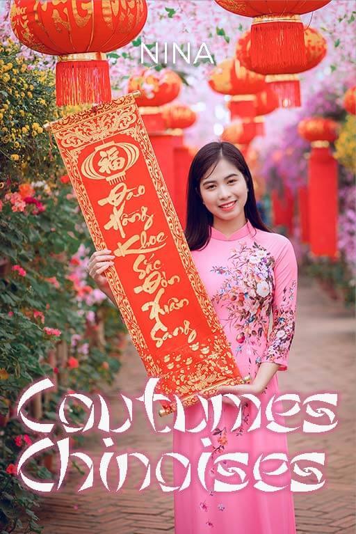 Couverture du Minitopo : Les Coutumes Chinoises