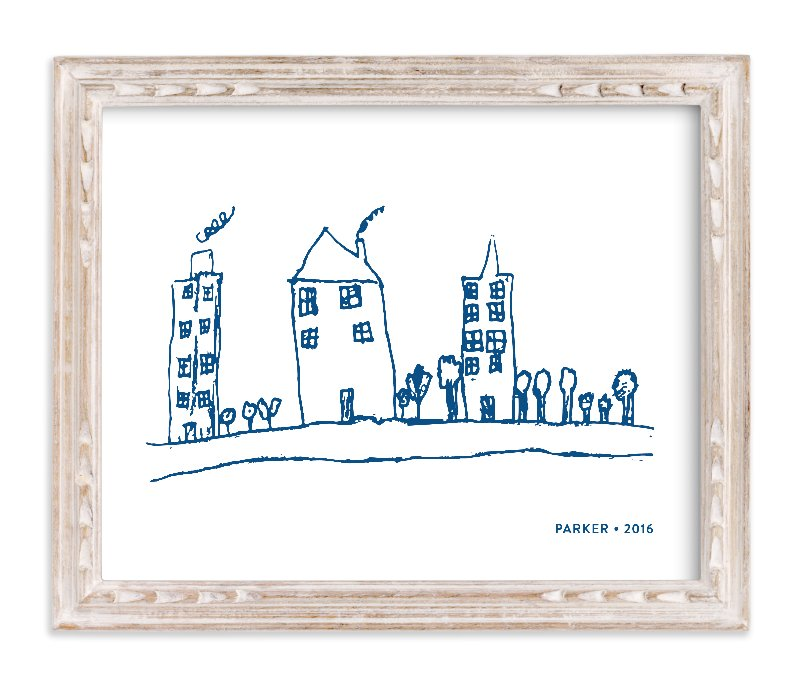 """Your Drawing as Art Print"" - Drawn Digital Art by Minted in beautiful frame options and a variety of sizes."