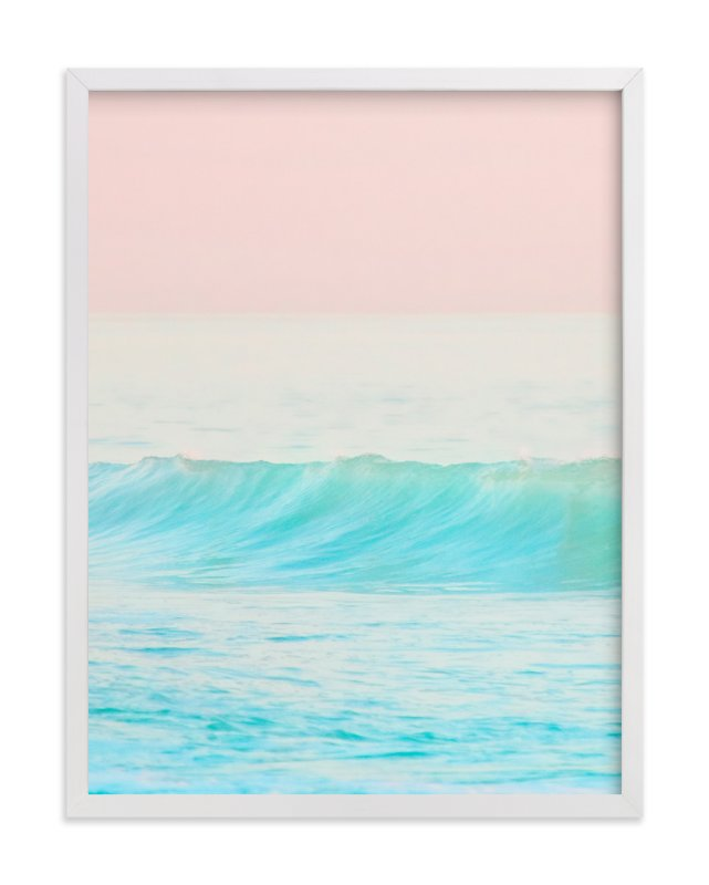 """Bubble Gum #1"" - Limited Edition Art Print by Jessica Cardelucci Nugent in beautiful frame options and a variety of sizes."