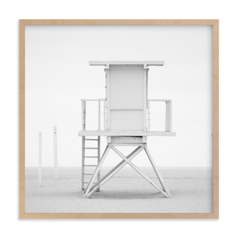 """""""Iconic Lifeguard tower"""" - Limited Edition Art Print by Kate Houlihan Photography in beautiful frame options and a variety of sizes."""