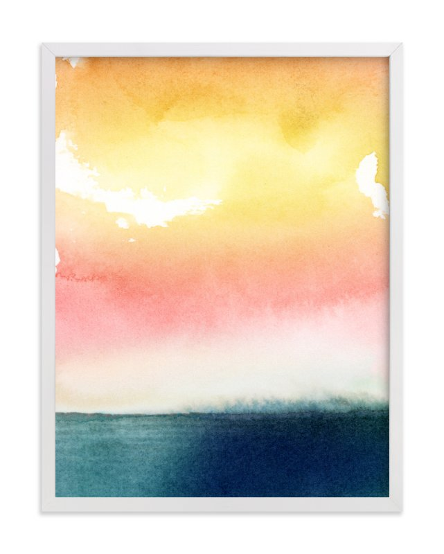 """""""Glimmer"""" - Limited Edition Art Print by Lindsay Megahed in beautiful frame options and a variety of sizes."""