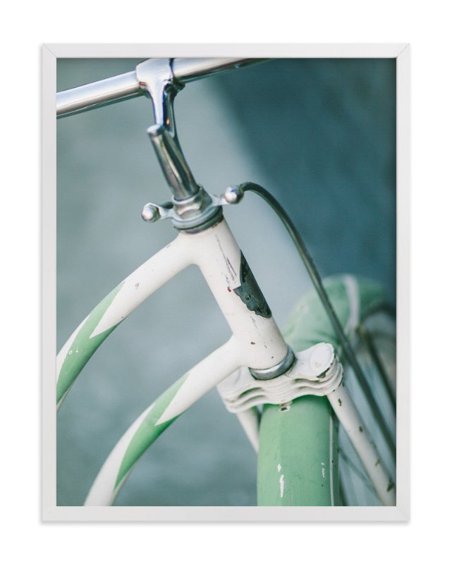 """""""Bicyclette I"""" - Limited Edition Art Print by Lindsay Ferraris Photography in beautiful frame options and a variety of sizes."""
