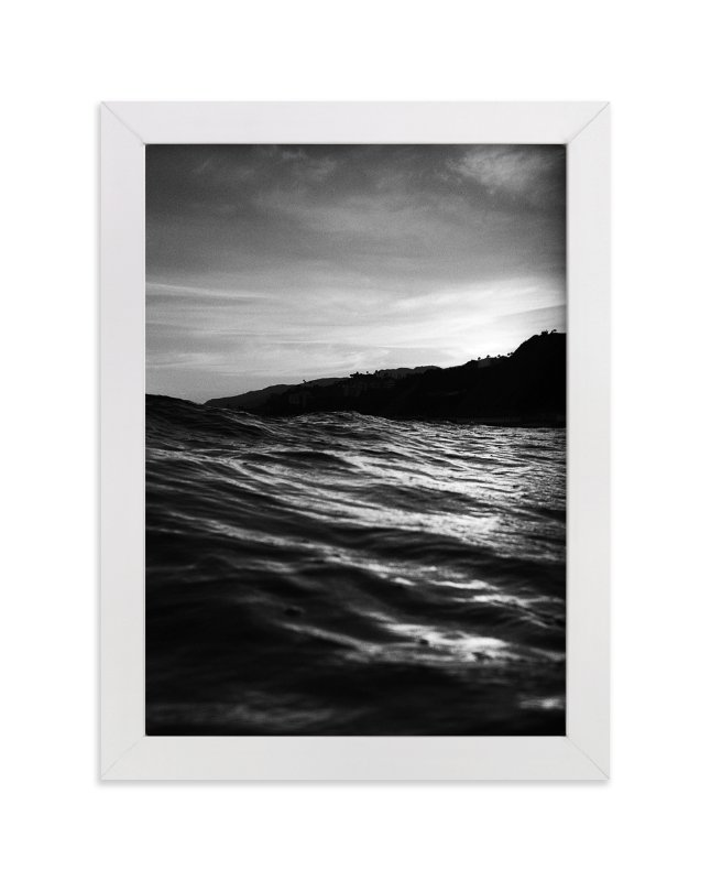 """""""Sunset Noir"""" - Limited Edition Art Print by Cade Cahalan in beautiful frame options and a variety of sizes."""
