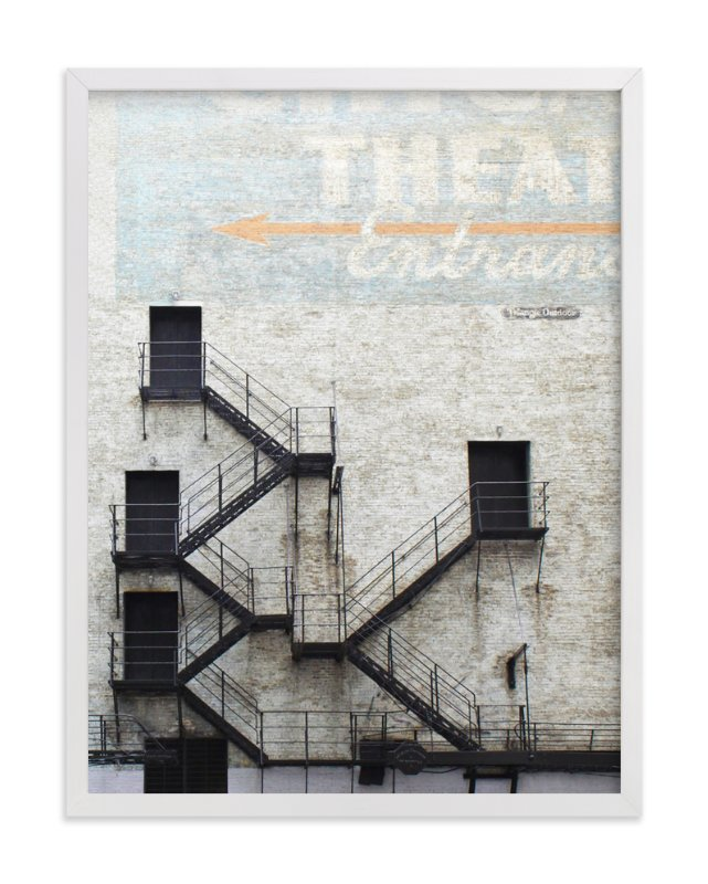Stage Door  - Limited Edition Art Print by Baumbirdy in beautiful frame options and  sc 1 st  Minted & Stage Door Wall Art Prints by Baumbirdy | Minted