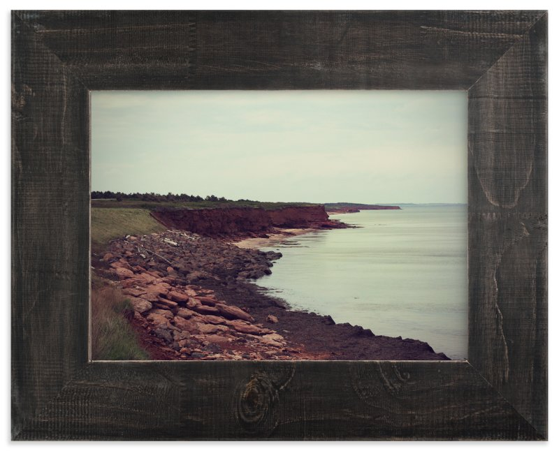 """""""The Sea Awaits"""" - Limited Edition Art Print by Gray Star Design in beautiful frame options and a variety of sizes."""