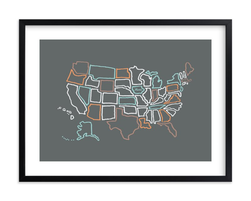 """""""This is Home"""" by Moglea in beautiful frame options and a variety of sizes."""