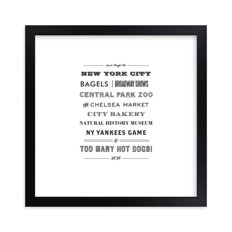 """Type Tribute"" by cambria in beautiful frame options and a variety of sizes."