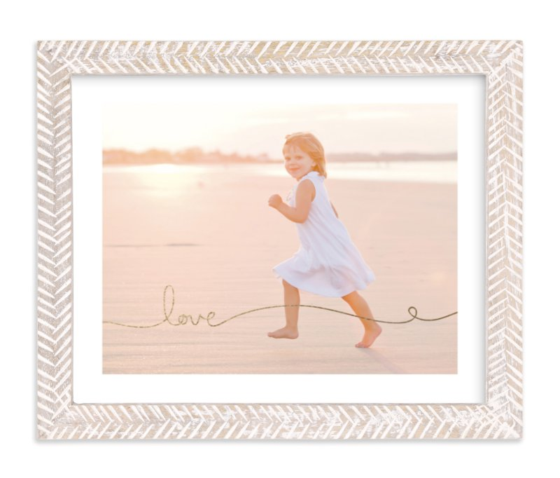 """""""Love Line"""" - Foil Pressed Photo Art Print by Kelly Ventura in beautiful frame options and a variety of sizes."""