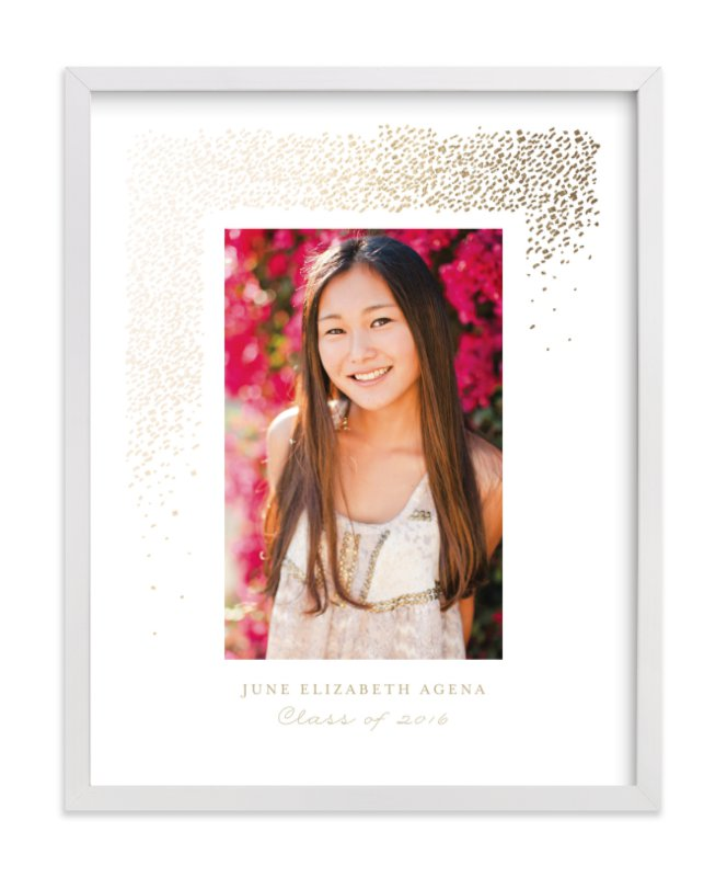 """""""Young Wild and Free"""" - Foil Pressed Photo Art Print by Fine and Dandy Paperie in beautiful frame options and a variety of sizes."""