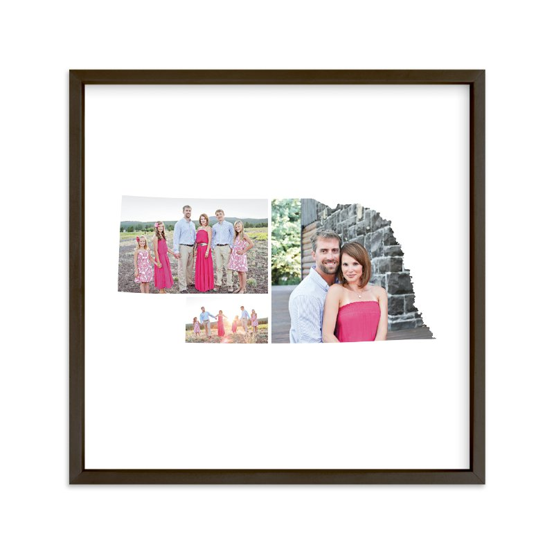 """Nebraska Love Location"" - Custom Photo Art Print by Heather Buchma in beautiful frame options and a variety of sizes."