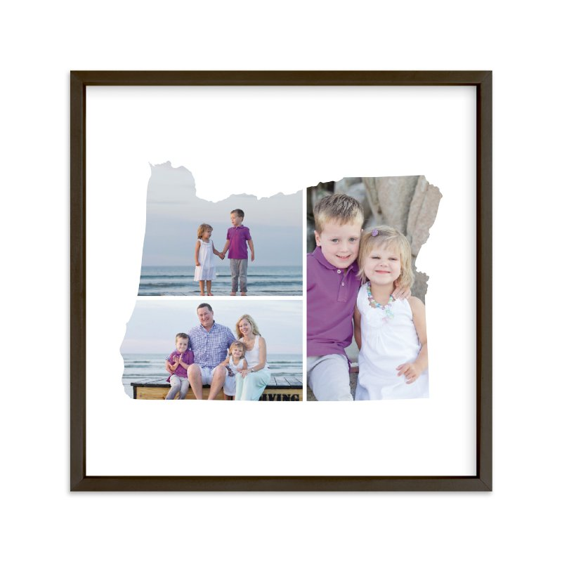 """""""Oregon Love Location"""" - Custom Photo Art Print by Heather Buchma in beautiful frame options and a variety of sizes."""