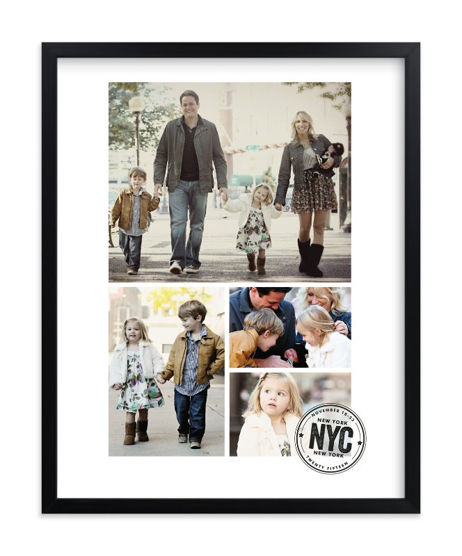 """""""Travel Stamp"""" - Custom Photo Art Print by Jessie Steury in beautiful frame options and a variety of sizes."""