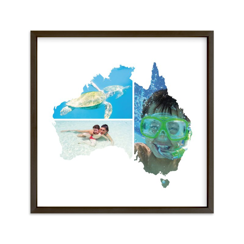 """""""Australia Love Location """" - Custom Photo Art Print by Heather Buchma in beautiful frame options and a variety of sizes."""