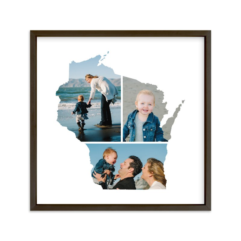 """""""Wisconsin Love Location"""" - Custom Photo Art Print by Heather Buchma in beautiful frame options and a variety of sizes."""