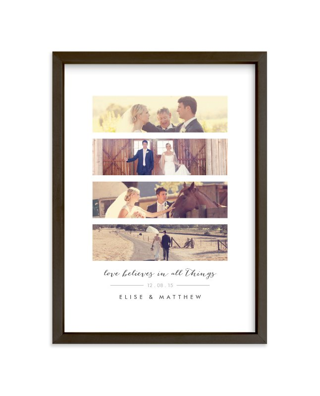 """Timeless Anniversary Strip"" - Custom Photo Art Print by Oma N. Ramkhelawan in beautiful frame options and a variety of sizes."