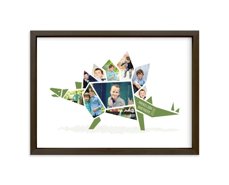 """""""Stegosaurus"""" - Custom Photo Art Print by Betta in beautiful frame options and a variety of sizes."""