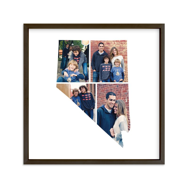 """Nevada Love Location"" - Custom Photo Art Print by Heather Buchma in beautiful frame options and a variety of sizes."