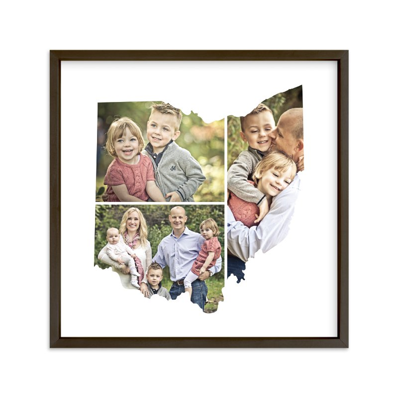 """Ohio Love Location"" - Custom Photo Art Print by Heather Buchma in beautiful frame options and a variety of sizes."