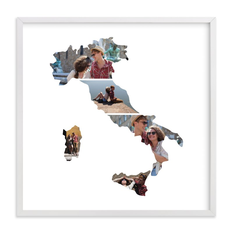 """""""Italy Love Location """" - Custom Photo Art Print by Heather Buchma in beautiful frame options and a variety of sizes."""