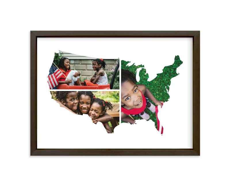 """""""USA Love Location """" - Custom Photo Art Print by Heather Buchma in beautiful frame options and a variety of sizes."""