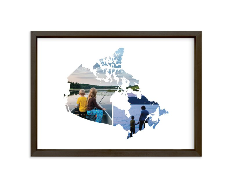 """""""Canada Love Location """" - Custom Photo Art Print by Heather Buchma in beautiful frame options and a variety of sizes."""