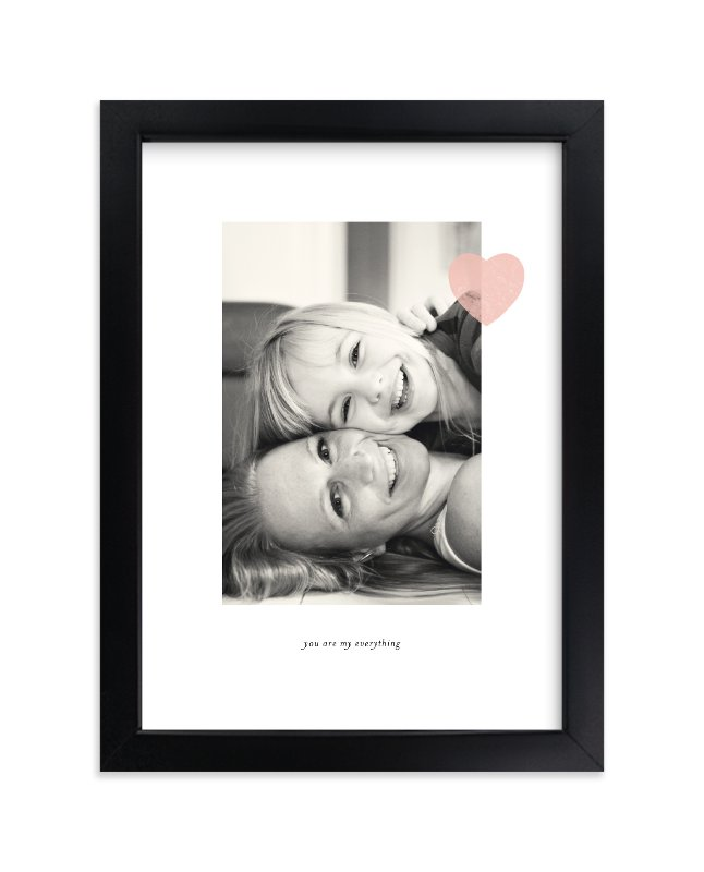 """Mom Love"" - Custom Photo Art Print by Sara Hicks Malone in beautiful frame options and a variety of sizes."