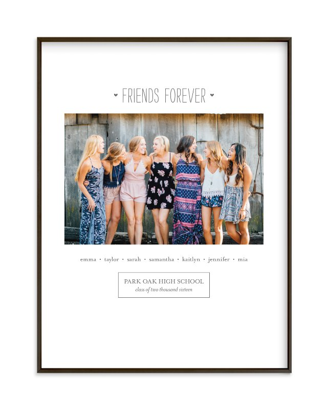 """""""Friends Forever"""" - Custom Photo Art Print by Sara Hicks Malone in beautiful frame options and a variety of sizes."""