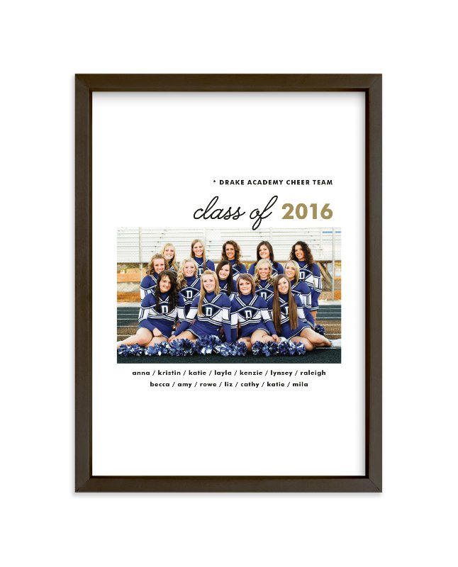 """""""Grad Pals"""" - Custom Photo Art Print by Sara Hicks Malone in beautiful frame options and a variety of sizes."""