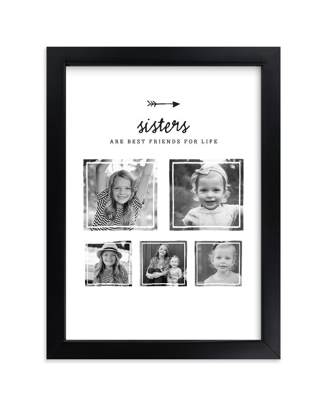 """""""Best Friends for Life - Sisters"""" - Custom Photo Art Print by Kelly Nasuta in beautiful frame options and a variety of sizes."""