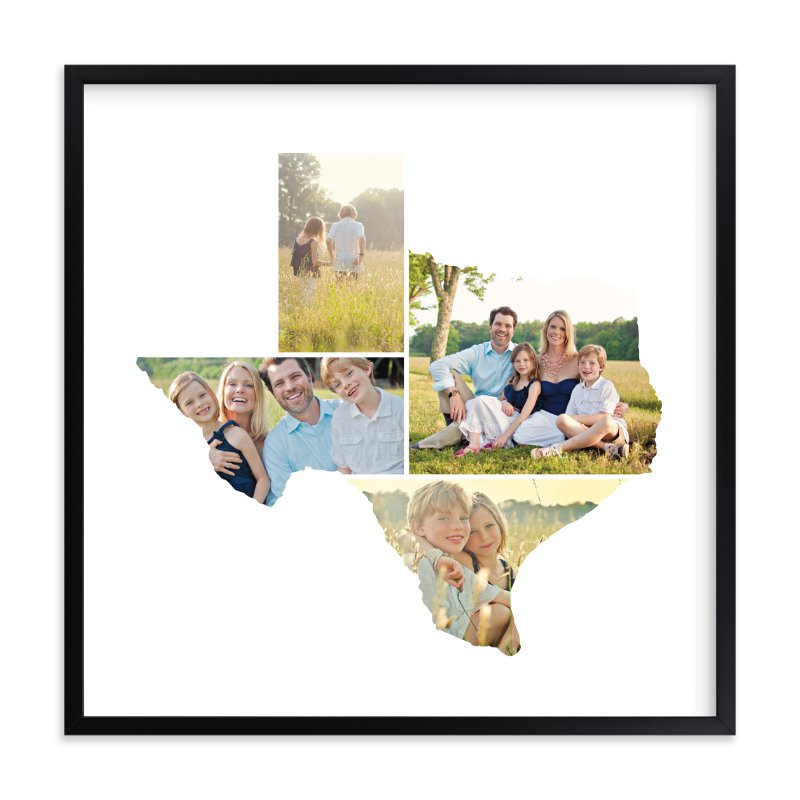 Texas Love Location Wall Art Prints by Heather Buchma | Minted