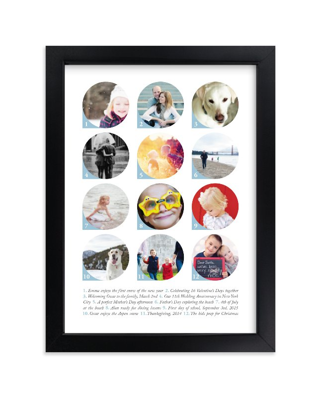 """An Index of Moments"" - Custom Photo Art Print by Liz Conley in beautiful frame options and a variety of sizes."