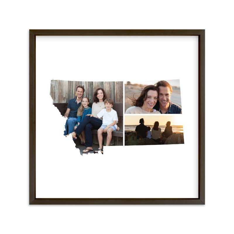 """""""Montana Love Location"""" - Custom Photo Art Print by Heather Buchma in beautiful frame options and a variety of sizes."""