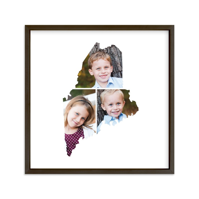 """""""Maine Love Location"""" - Custom Photo Art Print by Heather Buchma in beautiful frame options and a variety of sizes."""
