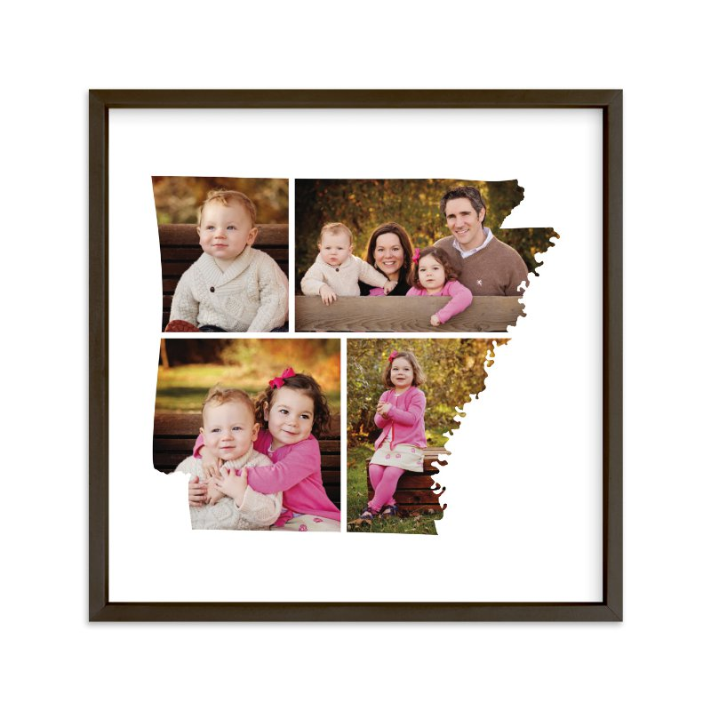 """Arkansas Love Location"" - Custom Photo Art Print by Heather Buchma in beautiful frame options and a variety of sizes."