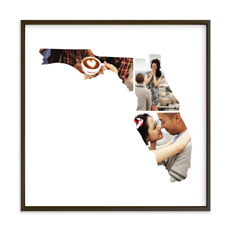 """Florida Love Location"" - Custom Photo Art Print by Heather Buchma in beautiful frame options and a variety of sizes."
