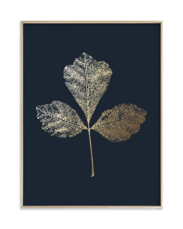 """Fragrant Sumac"" - Foil-pressed Art Print by LemonBirch Design in beautiful frame options and a variety of sizes."