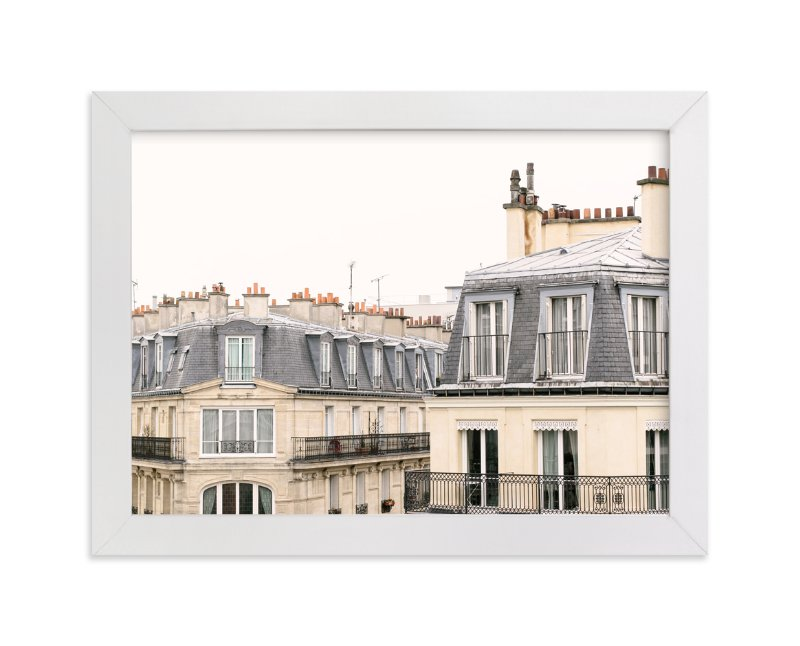 """""""Parisian Windows"""" - Limited Edition Art Print by Annie Montgomery in beautiful frame options and a variety of sizes."""
