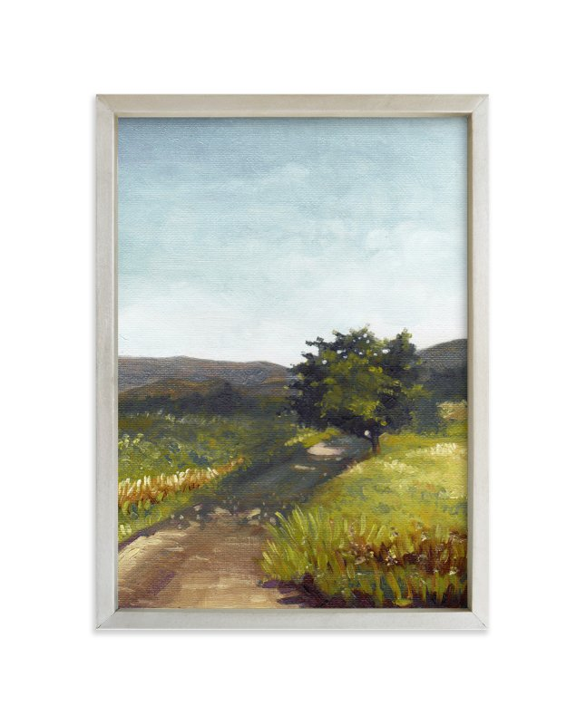 """""""Center Aisle"""" - Limited Edition Art Print by G.I. Pongase in beautiful frame options and a variety of sizes."""