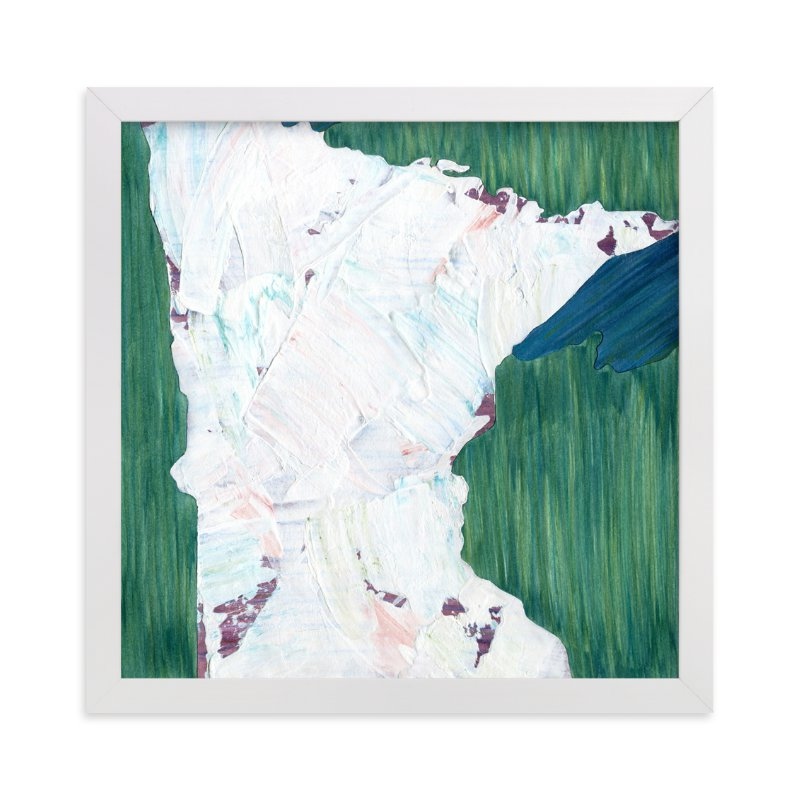 """""""Minnesota in Paint"""" - Limited Edition Art Print by Denise Wong in beautiful frame options and a variety of sizes."""