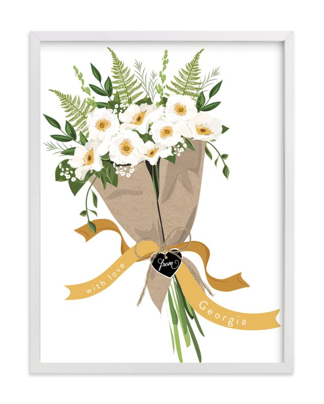 """Georgia Cherokee Rose Bouquet"" - Limited Edition Art Print by Susan Moyal in beautiful frame options and a variety of sizes."