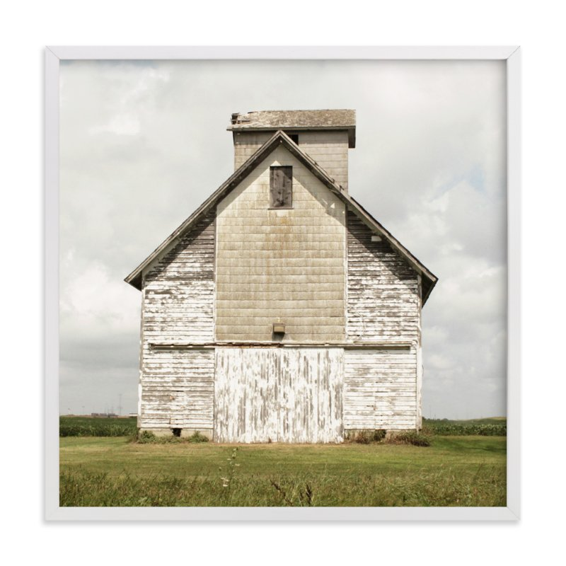 """weathered barn"" - Limited Edition Art Print by Baumbirdy in beautiful frame options and a variety of sizes."