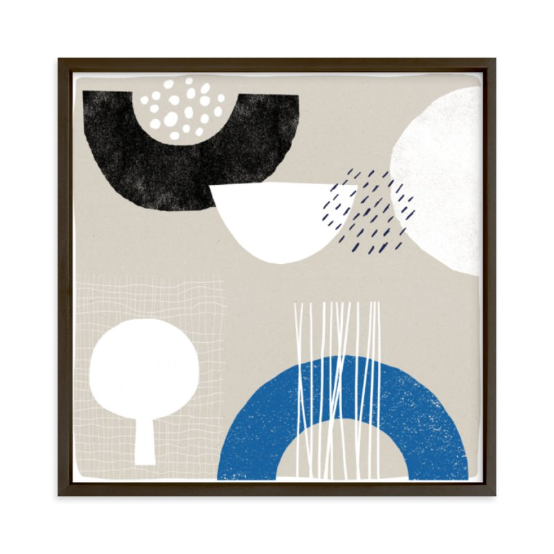 """""""Associate 2"""" - Limited Edition Art Print by Francesca Iannaccone in beautiful frame options and a variety of sizes."""