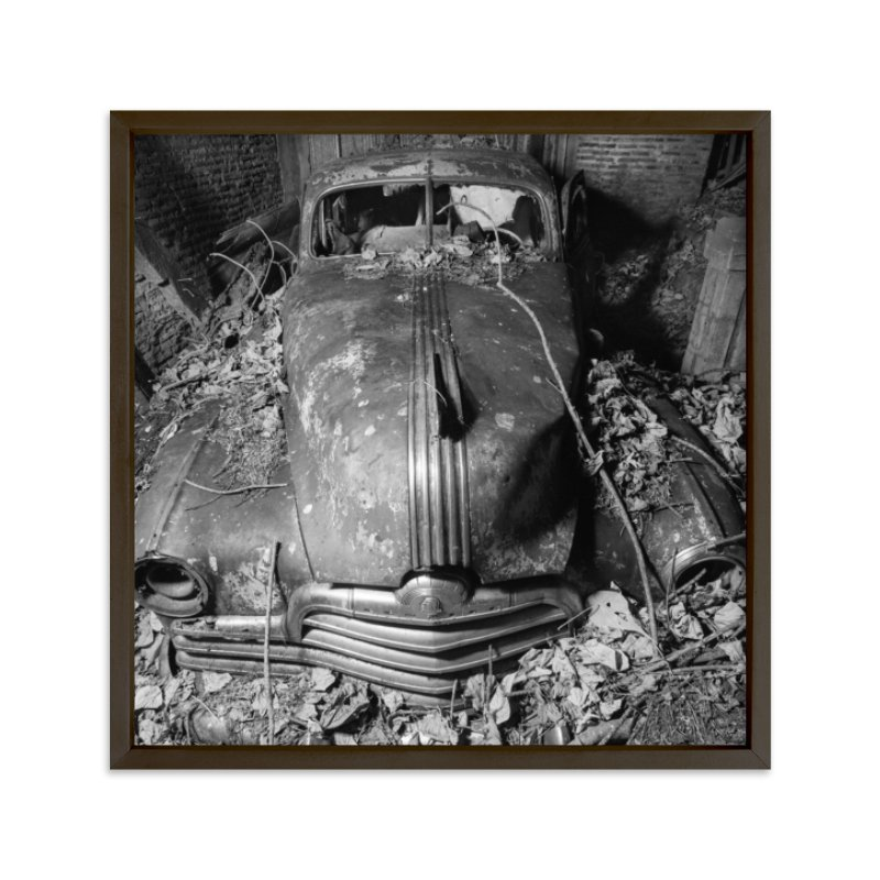 """""""ruined Pontiac"""" - Limited Edition Art Print by Alaric Magno A. Yanos in beautiful frame options and a variety of sizes."""
