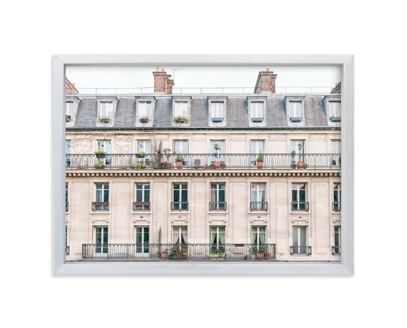 """""""Days in Paris"""" - Limited Edition Art Print by Jessica Cardelucci Nugent in beautiful frame options and a variety of sizes."""